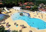 Camping avec Hébergements insolites Vielle-Saint-Girons - de la Plage-1