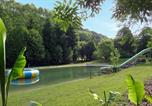 Camping avec Site nature Biron - Le Moulin de David-4