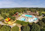 Camping avec Parc aquatique / toboggans Aquitaine - Les Hauts de Ratebout-3
