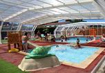 Camping avec Parc aquatique / toboggans France - L'Orée de l'Océan-4