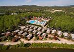 Camping avec Piscine couverte / chauffée La Colle-sur-Loup - Riviera d'Azur-2