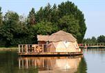 Camping avec Site de charme Pressac - Village Flottant de Pressac-2