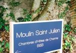 Hôtel Chevilly - Maison d'Hôtes Moulin Saint Julien-4