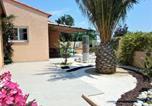 Location vacances Canohès - Chasselas - Air-conditioned Villa 8 Pers Private Pool In Quiet Enclosed Garden-3