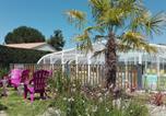 Camping avec Piscine couverte / chauffée Billiers - Camping Le Bois Verdon-4