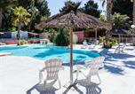 Camping avec Ambiance club Languedoc-Roussillon - Camping les Peupliers-1