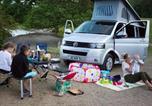 Camping Royaume-Uni - Luxury heated glamping Vw Camper Lake Windermere-2