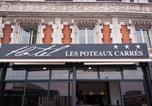 Hôtel L'Horme - Hôtel Les Poteaux Carrés-1