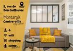 Location vacances  Loiret - Appartment cosy au cœur de Montargis - city center-1