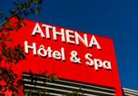 Hôtel 4 étoiles Phalsbourg - Hôtel Athena Spa-1