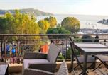 Location vacances Villefranche-sur-Mer - Villefranche center Bay & Port Sea view front-1