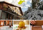 Hôtel Saint-Vincent-les-Forts - Hotel-Restaurant Spa Les Peupliers-2