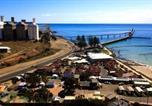 Location vacances Moonta - Wallaroo Beachfront Tourist Park-3
