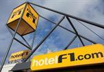 Hôtel Lorraine - Hotelf1 Metz Actipole-3