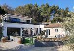 Location vacances Pourrières - Villa Sainte Victoire Aix en Provence-3