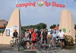 Camping avec Accès direct plage Vendée - Camping Les Dunes-1