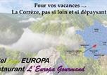 Hôtel Corrèze - Hôtel-Restaurant Logis Europa-3