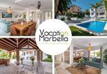 Location vacances Benalmádena - Sunny Camelia Villa Heated pool-1