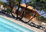 Camping avec Piscine Vaucluse - Camping Lodges en Provence-3