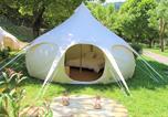 Camping  Acceptant les animaux Gard - Camping Le Moulin du Luech-1