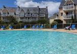 Location vacances Pleuven - Vacances Ô Cap Coz - Jardin vue mer - Résidence Cap Azur Fouesnant-3