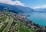 Location vacances Montreux - Montreux Castle | Charming Lake View Studio-4