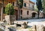 Location vacances Sant Joan de Vilatorrada - Cozy Cottage in Castellnou de Bages with Forest Nearby-1