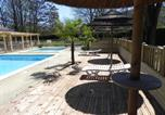 Camping avec Piscine Sampzon - Camping Le Carpenty-1