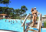 Camping avec Piscine couverte / chauffée Biscarrosse - Camping Plage sud -4