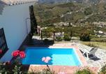 Location vacances Frigiliana - Casa Ana, Fantásticas vistas al pueblo, el mar y la montaña-2