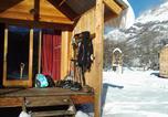 Camping Savoie - Les chalets Huttopia de Bourg-St-Maurice-2