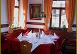 Hôtel Bad König - Goldner Engel, Restaurant - Hotel - Metzgerei-4