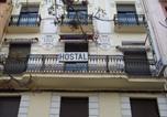 Location vacances Saragosse - Hostal Central-1