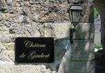 Hôtel Cherveix-Cubas - Château de Gaubert-2