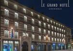 Hôtel Grenoble - Le Grand Hôtel Grenoble-1