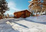 Location vacances Crans-Montana - Apartment at the bottom of the slopes in Crans-Montana, cosy atmosphere-1