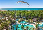 Camping avec Piscine Marseillan - Les Méditerranées - Camping Nouvelle Floride-1