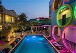 Hôtel Cambodge - White Rabbit Hostel-3