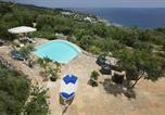 Location vacances Gagliano del Capo - Novaglie Villa Sleeps 3 Pool Wifi-1