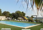Camping avec Parc aquatique / toboggans Sigean - Camping Le Pinada-1