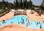 Camping avec Piscine Montblanc - Camping Les Berges du Canal-1