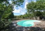 Location vacances Grospierres - Vinatge Holiday Home in Ardeche with Swimming Pool-3