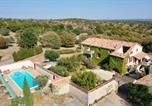 Location vacances  Ardèche - Mas Ardéchois le Pousta piscine chauffée-1