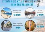 Location vacances Nice - Nestor&Jeeves - Duplex Palais Eugenie - Hyper center - Shopping area - Top floor-4
