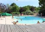 Camping avec Piscine couverte / chauffée Alpes-de-Haute-Provence - Camping Forcalquier-1