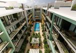 Location vacances Playa del Carmen - Studio close to 5th Av. w/ Amazing Roof Pool View, Gym, Spa and more!-4
