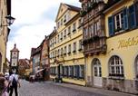 Hôtel Rothenburg ob der Tauber - Historik Hotel Goldener Hirsch Rothenburg-2