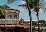Location vacances  Guadeloupe - Bungalow supérieur vue mer-1