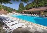 Camping avec Piscine couverte / chauffée Chazelles-sur-Lyon - Le Vaubarlet - Camping Sites et Paysages-1