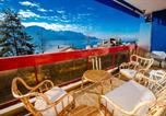 Location vacances Vevey - Wonderful terrace mountains and lake view-1